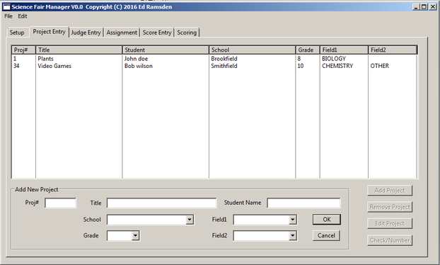 Science Fair Management Tool - EdsCave